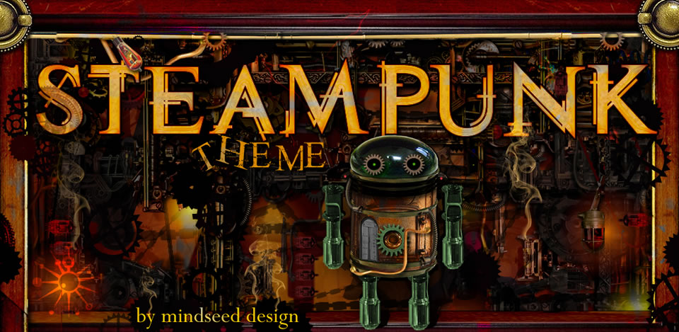 Steampunk Go Launcher Ex Theme