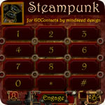 Steampunk Go Contacts Ex Theme