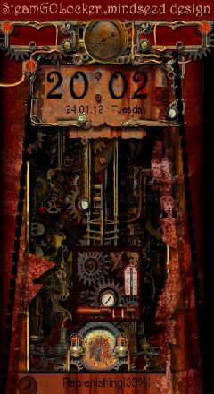 steampunk golocker theme by mindseed design